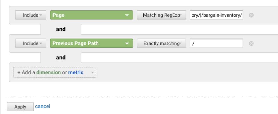 Filtering Data for Dealer.com in Google Analytics Backend