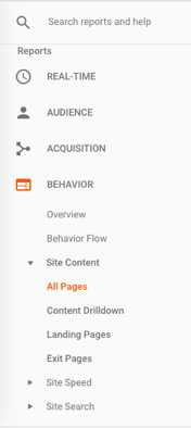 Google Analytics Backend to Acquire Homepage Pageview