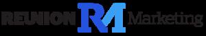 Image of Reunion's logo with Reunion Marketing surrounding it