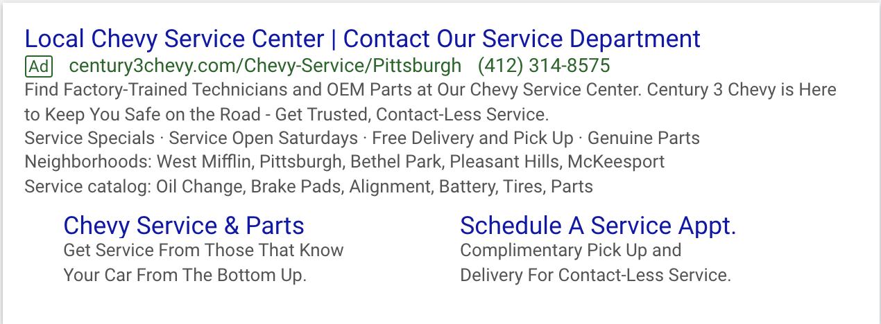 service-department-google-ad